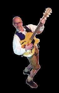 Günther unser Gitarrist
